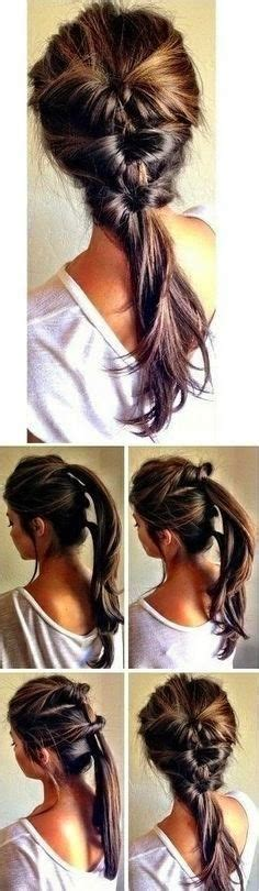 ponytail hairstyles at home 7 super cute everyday hairstyles for medium length hair
