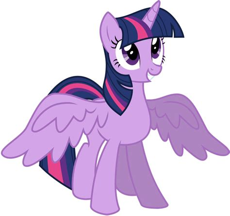Vanna Series Purple my pony twilight sparkle alicorn birthday ideas