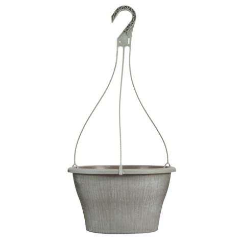 Hanging Planter Hooks by 11 75 Quot Banyan Hanging Planter With Hanger Pride Garden
