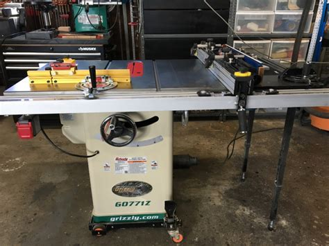 table top saws for sale 10 quot hybrid table saw with t shaped fence grizzly industrial