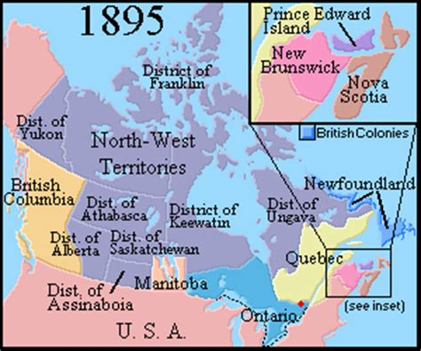 history of new year in canada maps of canada from 1867 to 1999