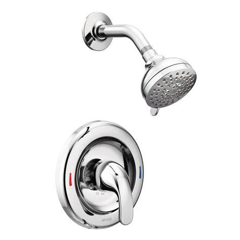 moen adler  handle  spray shower faucet  valve