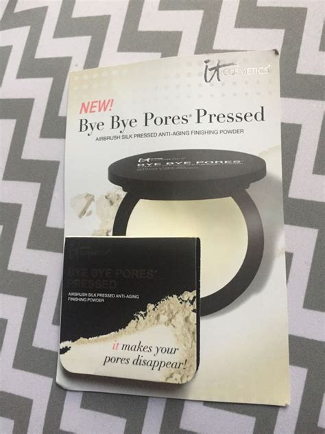 Bye Bye Pores Pressed it cosmetics bye bye pores pressed muabs buy and sell