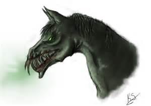 demon horse by xox kat xox on deviantart