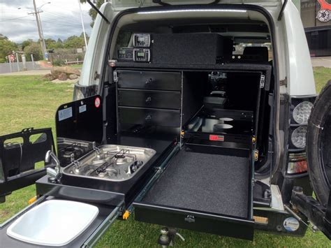 Arb Car Awning Drawers 4wd Kitchen System Under Tray Drawers Overland