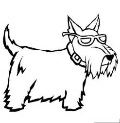 miniature schnauzer coloring sheets coloring coloring pages