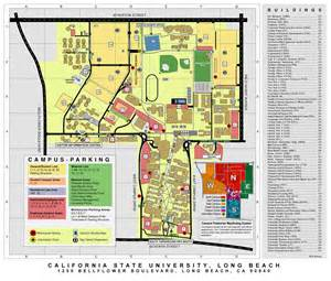 Cal State Long Beach Campus Map by Event Location Cal State Long Beach