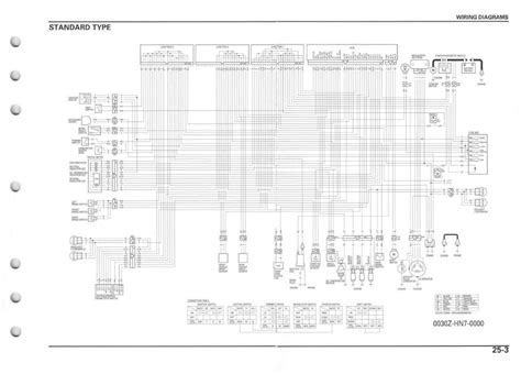 2002 honda 400ex carburetor diagram wiring schematic