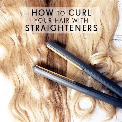 how to curl hair with straighteners flicks how to curl your hair with straighteners dirty looks