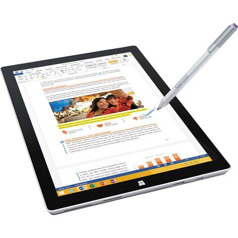 Tablet Microsoft Surface Pro 3 microsoft surface pro 3 tablet 12 inch 128 gb intel i5 windows 10 889842012293 ebay