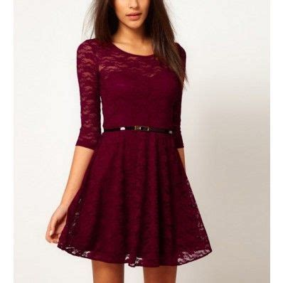 Sleeve Lace T Shirt Dress dresses for half sleeve casual lace dress