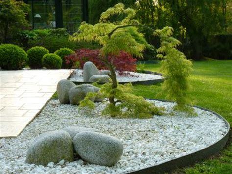 massif de fleurs zen