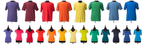 different color shirt in stem t shirts