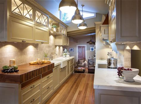 galley kitchen lighting installing under cabinet led lighting on your own home