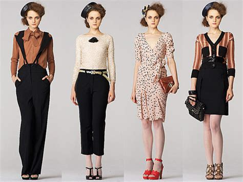 Style Report Fashions by Adored Vintage Runway Report Rykiel Resort 2011