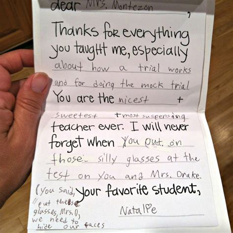 thank you letters to teachers teacher thank you letter 8 free