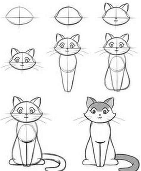 doodle chat les 25 meilleures id 233 es concernant comment dessiner un