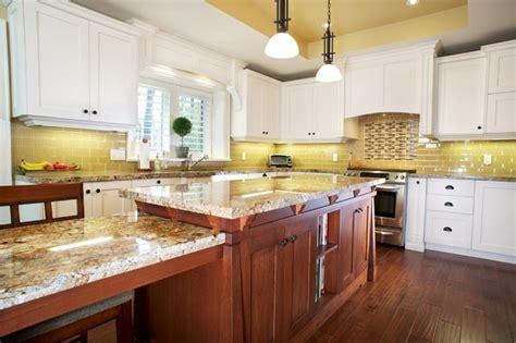 yellow river granite countertops  unique feature