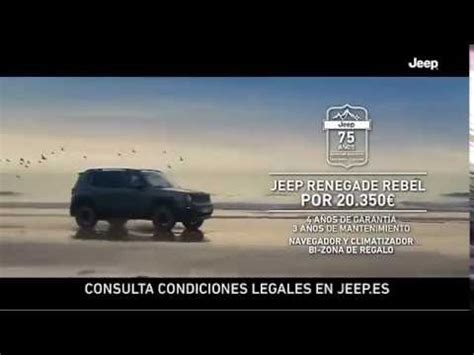 jeep rebel 2017 anuncio jeep renegade rebel 2017