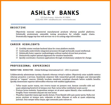 Director Resume Template Word 7 director resume template word instinctual intelligence