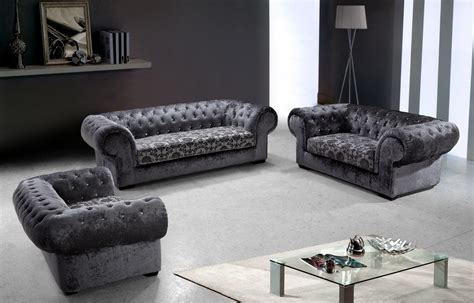 divani casa metropolitan modern fabric sofa set with