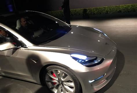 tesla inside hood tesla model 3 release candidates are being built now