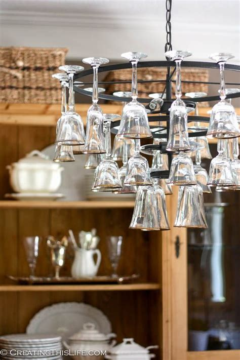 How To Make A Wine Glass Chandelier Best 25 Wine Glass Chandelier Ideas On Wine Glass Shelf Glass Chandelier And