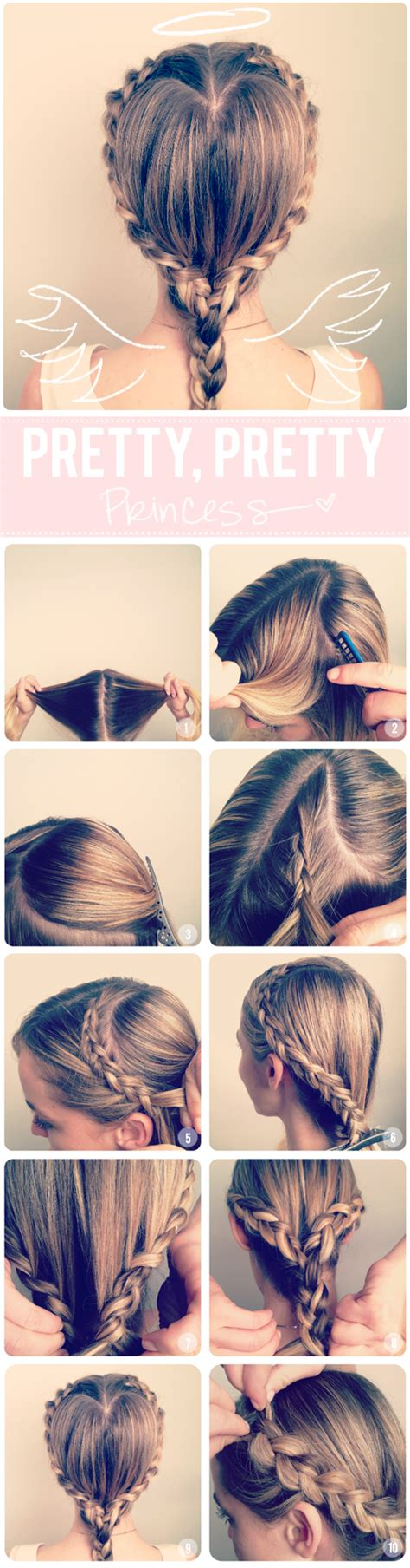 diy hairstyles we heart it 13 interesting tutorials for everyday hairstyles pretty