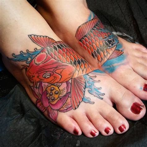 49 koi fish tattoo designs with meanings