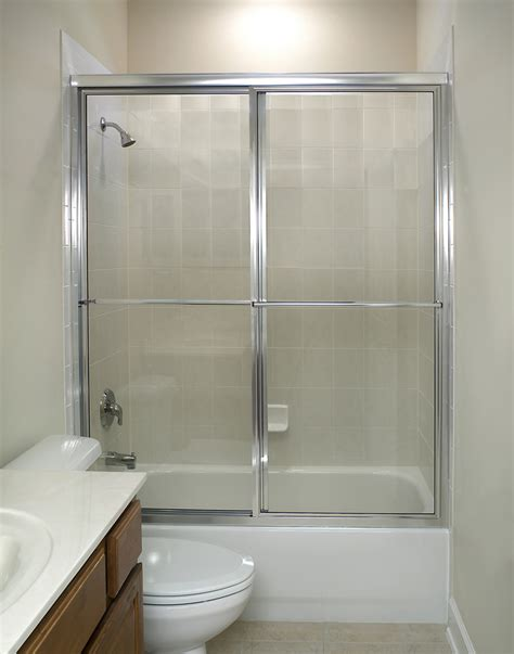 install a shower door how to install a shower door with tub small bathroom