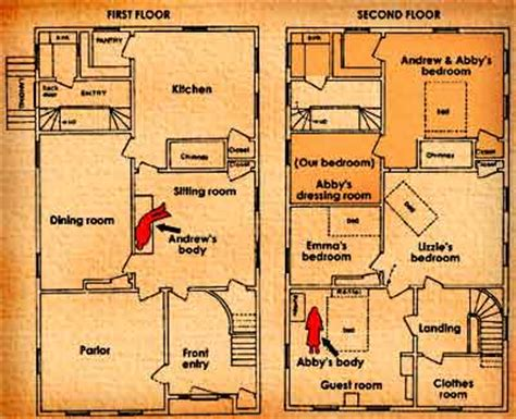 lizzie borden house floor plan lizzie borden floor plan