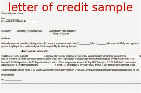 Granting Credit Letter Definition Best Letter Of Credit Definition Letter Format Writing