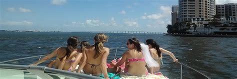boat rental miami bachelorette miami boat rental miami boat rental and charters in the