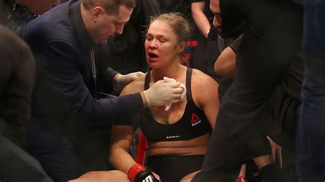 who won ufc 193 last night ronda rousey vs holly holm ufc 193 ronda rousey transported to hospital with split