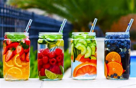Healthy Detox Water Drinks by Try These 4 Detox Waters For A Flat Belly And A Healthy