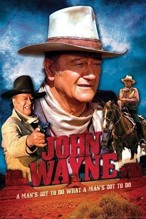 film cowboy john wayne john wayne movie cowboy poster movies i love pinterest