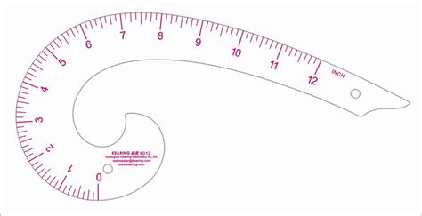 pattern french curve kearing6012 garment ruler drawing mold ruler drawing