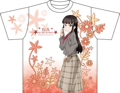 Kaos Anime Lovelive Takami Chika Graphic T Shirt amiami character hobby shop live graphic t shirt d dia kurosawa
