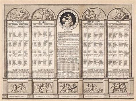Revolutionary Calendar Revolutionary Calendar