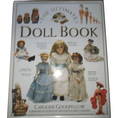 the ultimate doll book by caroline goodfellow from