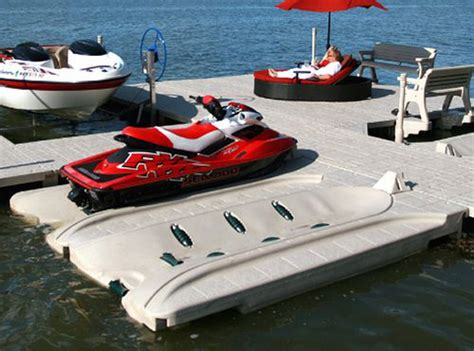 modular floating boat docks wave armor s modular floating dock personal coast ror