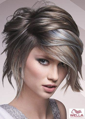gray hair styles funky 2887 best funky messy layered shag images on