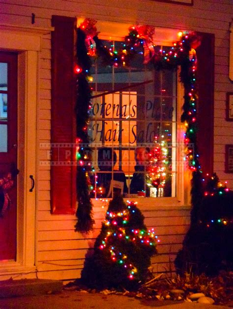 saint andrews nb waterfront christmas decorations and