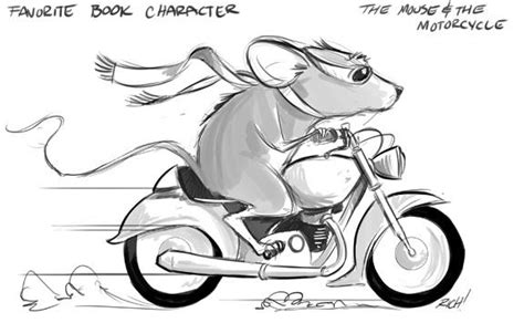 coloring page ralph s mouse marvelous the mouse and the motorcycle cake between the