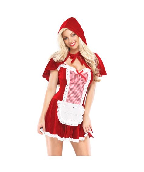 red riding hood 2304 adult sexy red riding hood wolf animal costume