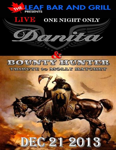 where does the bounty live danita and the bounty molly hatchet tribute live at the leaf bar