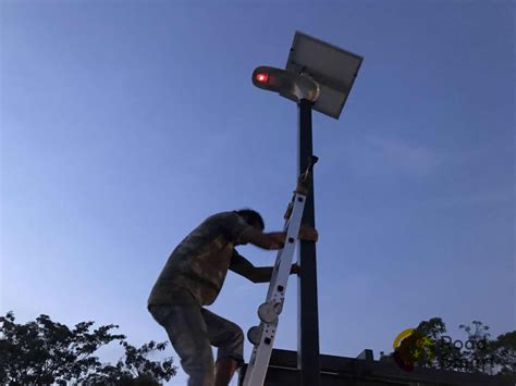Solar Lights Thailand 15w 2260lm Solar Light For Parking Lot Installed In