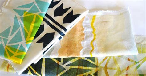 diy print your own fabric poppytalk