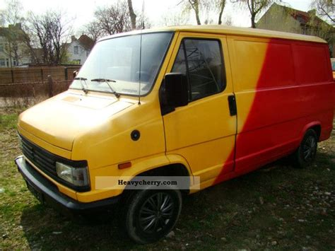 peugeot j5 1993 box type delivery photo and specs
