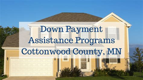 payment assistance programs cottonwood county mn